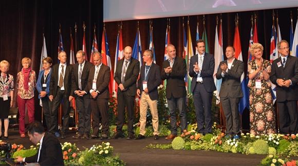 Sous les lumières du Congrès mondial de la rose à Lyon