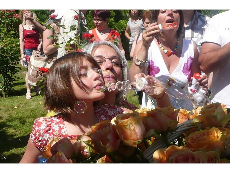 Baptême de la Rose 'Anne TALAU'