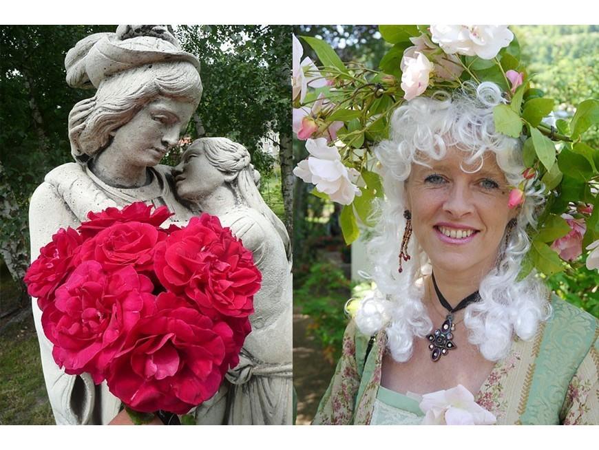 Baptême de la Rose 'Angéline MARC'