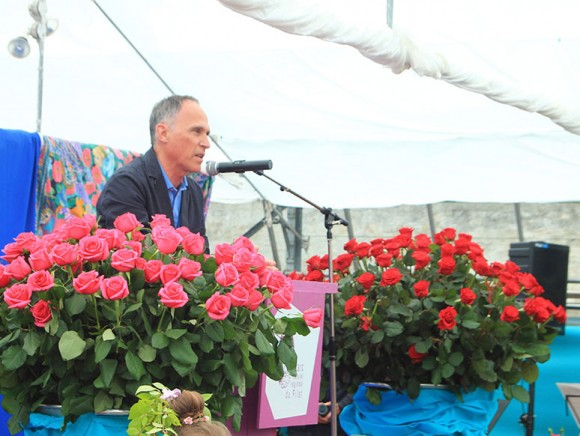 Baptêmes des deux Roses 'Dominique' et 'Jacques'