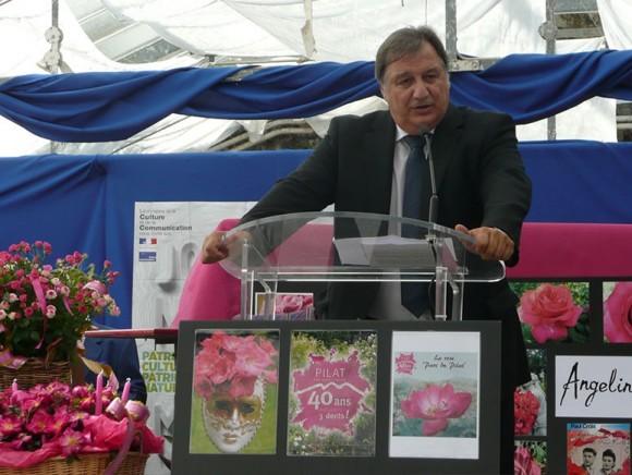Baptême de la rose 'Parc du Pilat'