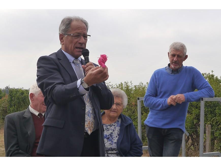 Baptême de la rose Louis Gérossier
