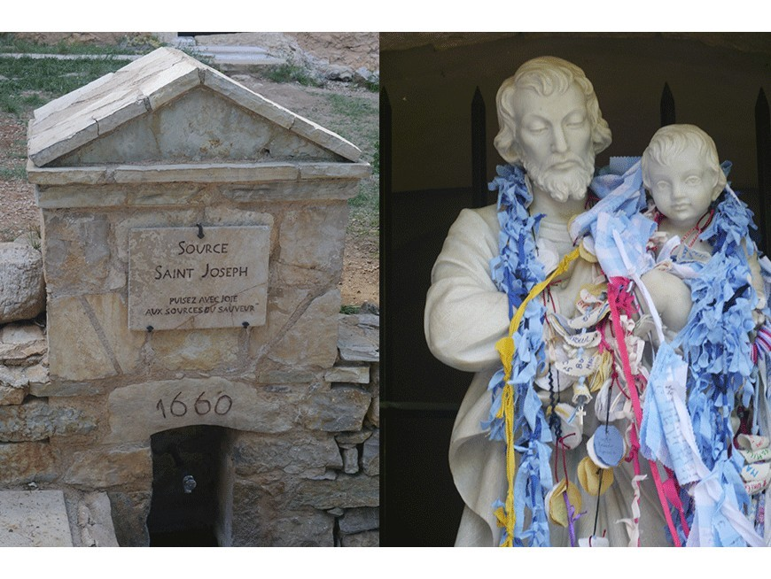 """Bénédiction de la rose """"Notre-Dame de Cotignac"""""""