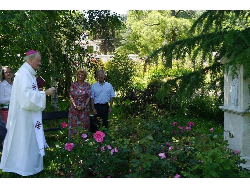 """Bénédiction de la rose """"Jardin Ste-Thérèse"""""""