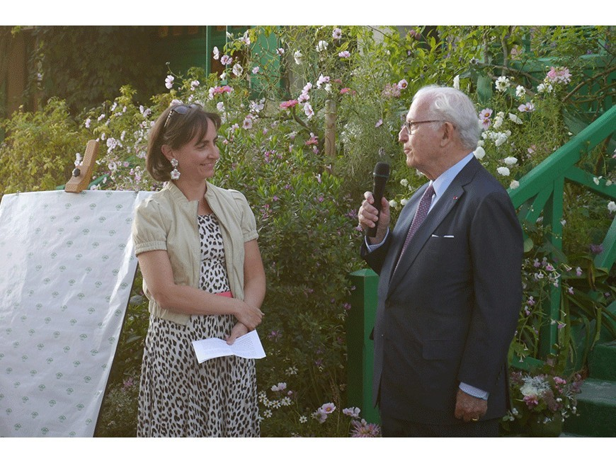Baptême de la rose Gérald Van der Kemp