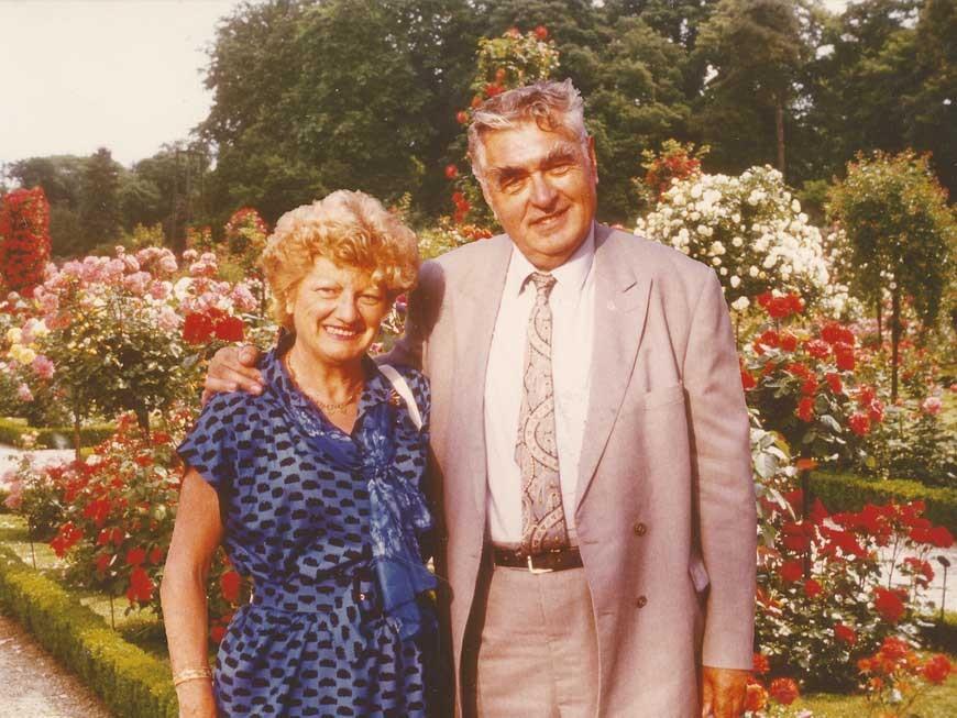 Paul et Jeanne Croix